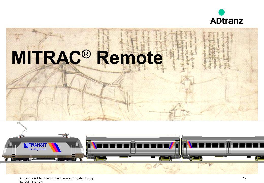 MITRAC® Remote