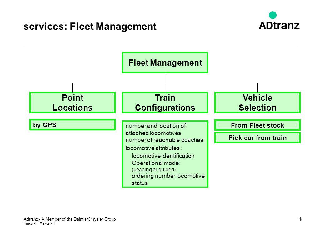 services: Fleet Management