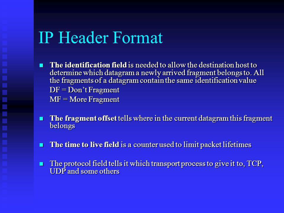 IP Header Format