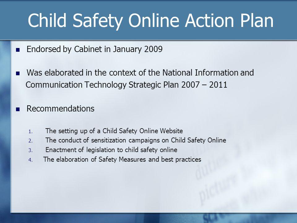 Child Safety Online Action Plan