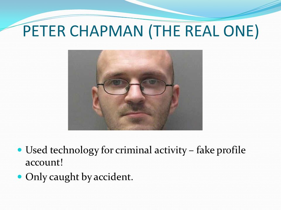 PETER CHAPMAN (THE REAL ONE)