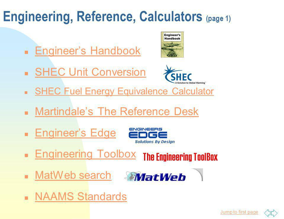 Engineering, Reference, Calculators (page 1)