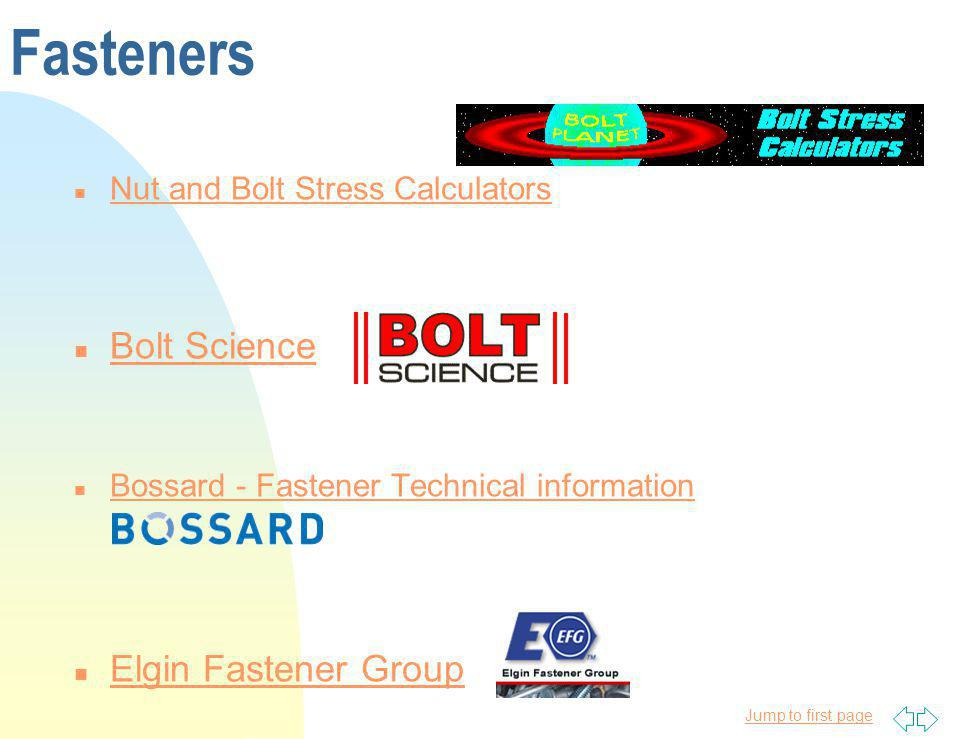 Fasteners Bolt Science Elgin Fastener Group