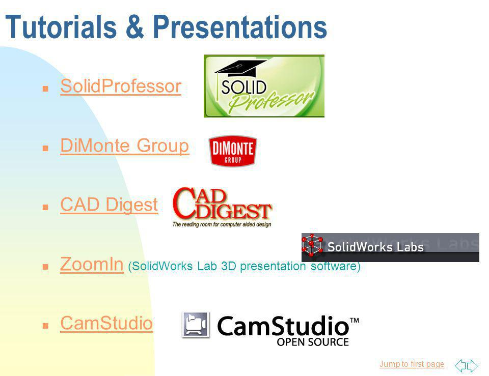 Tutorials & Presentations
