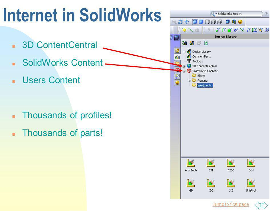 Internet in SolidWorks