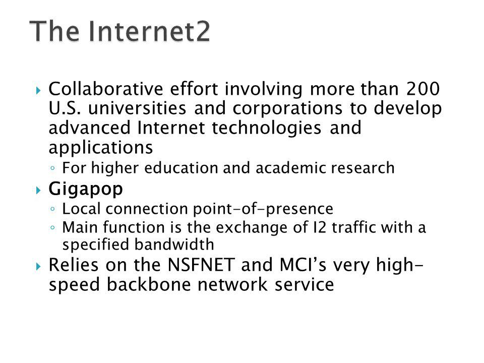 The Internet2