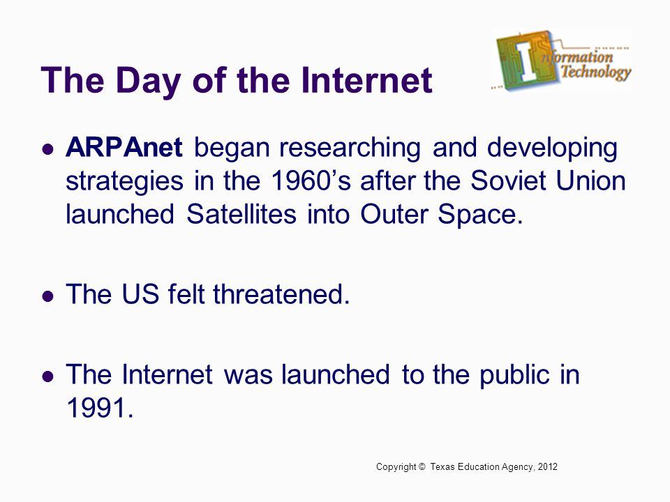 The Day of the Internet