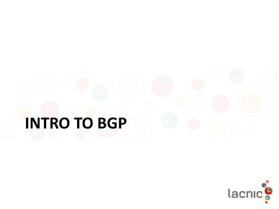 Intro to BGP