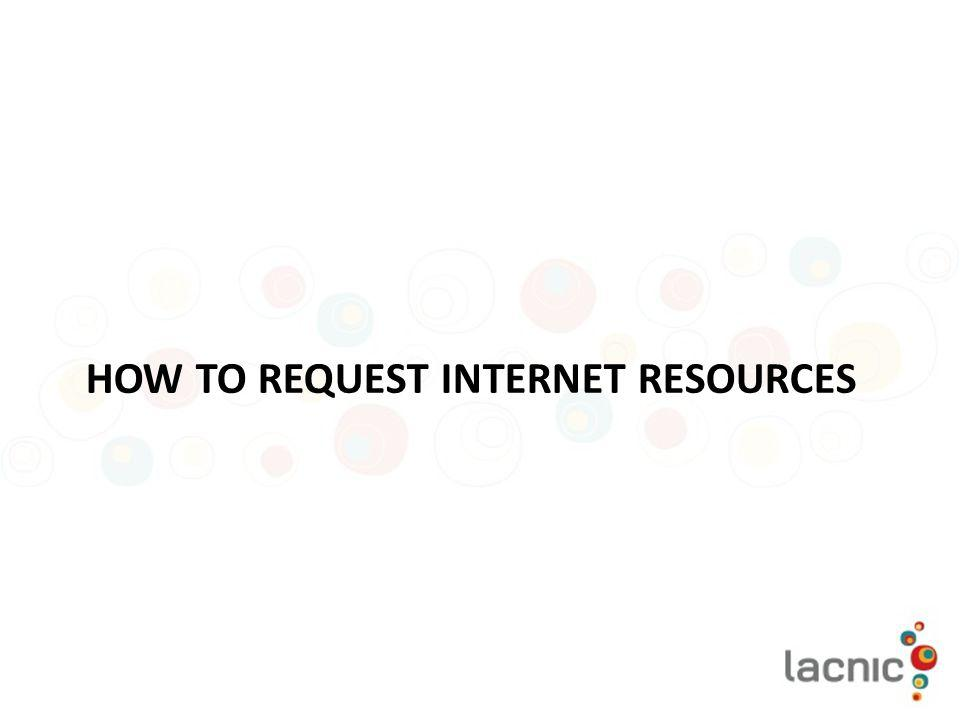 How to request internet resources