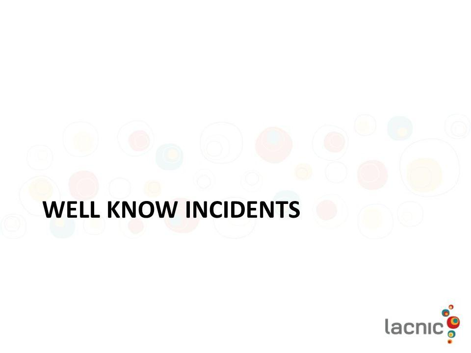 Well know incidents