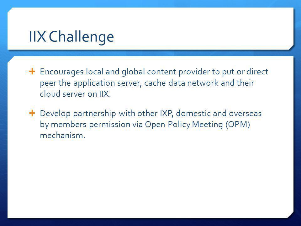 IIX Challenge