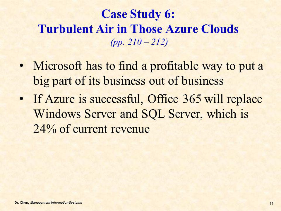 Case Study 6: Turbulent Air in Those Azure Clouds (pp. 210 – 212)