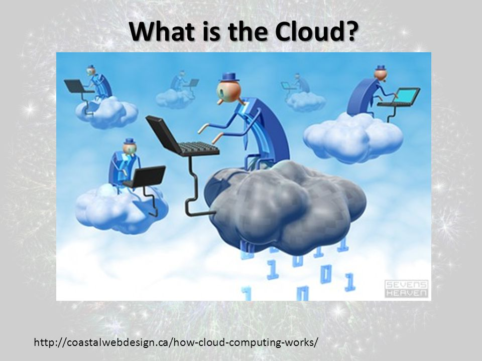 What is the Cloud http://coastalwebdesign.ca/how-cloud-computing-works/