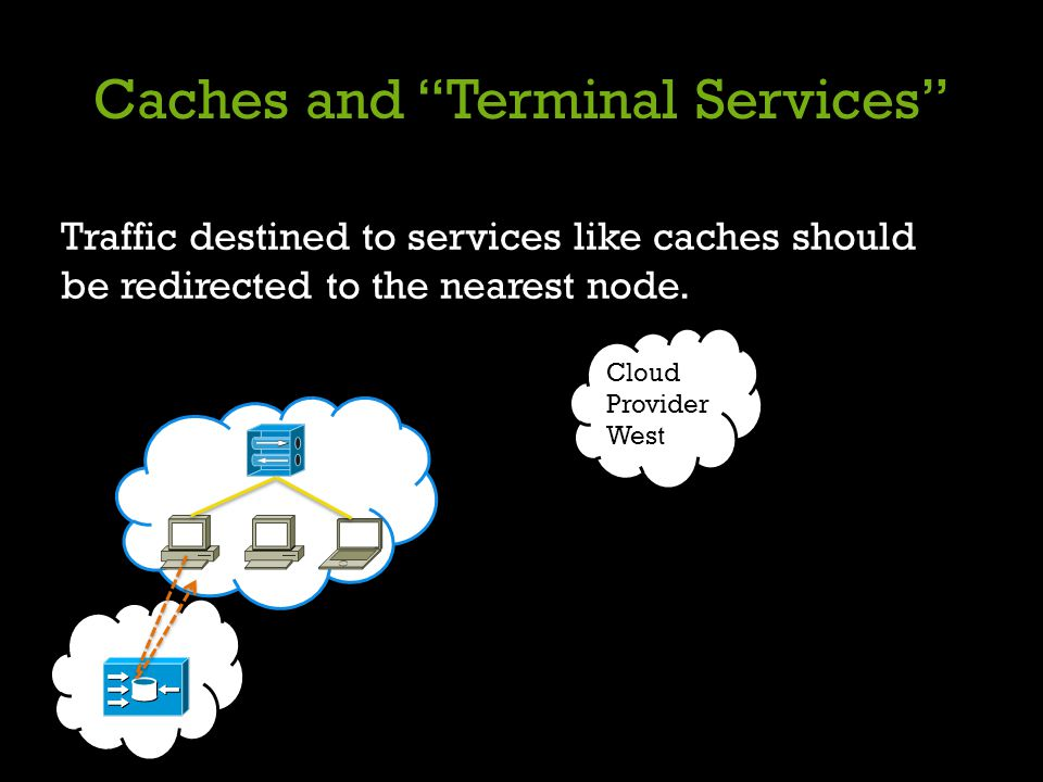Caches and Terminal Services