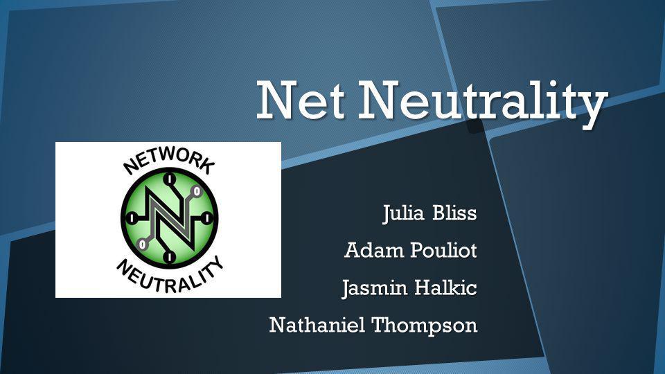 Julia Bliss Adam Pouliot Jasmin Halkic Nathaniel Thompson