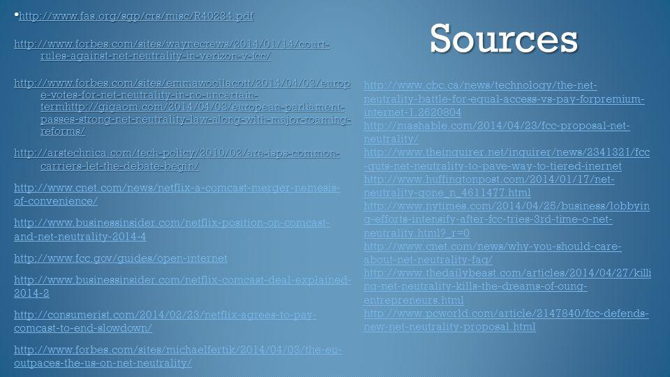 Sources •http://www.fas.org/sgp/crs/misc/R40234.pdf
