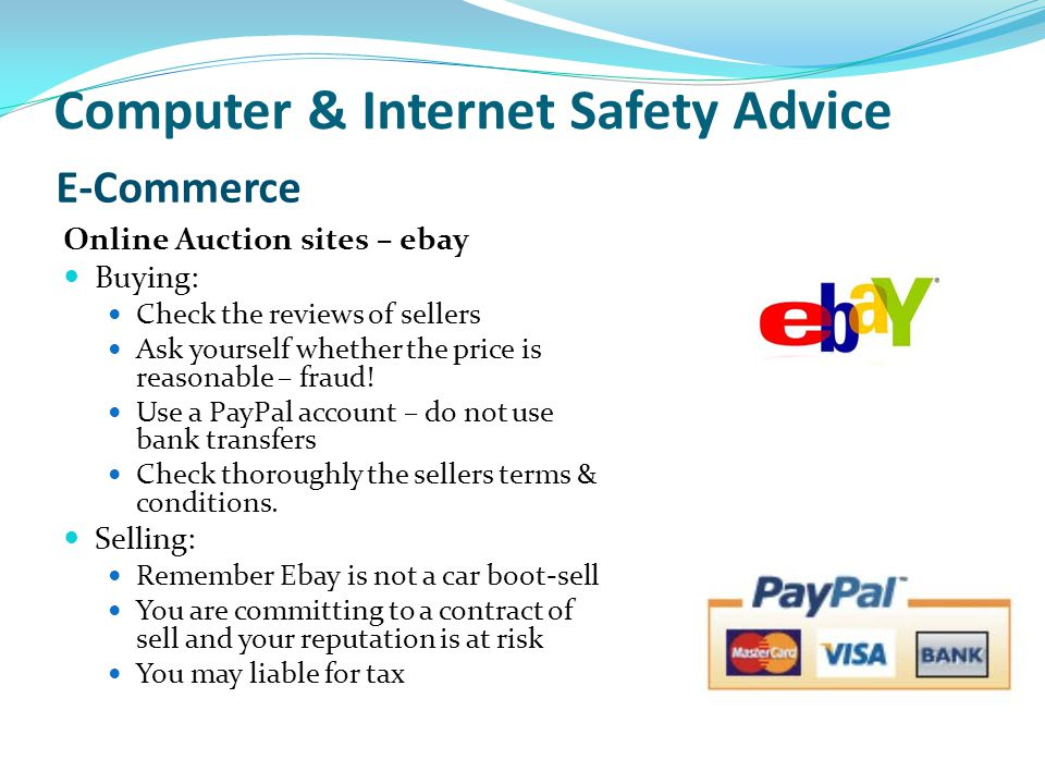 Computer & Internet Safety Advice