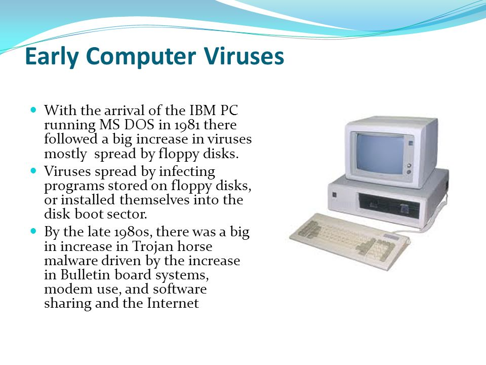 Early Computer Viruses