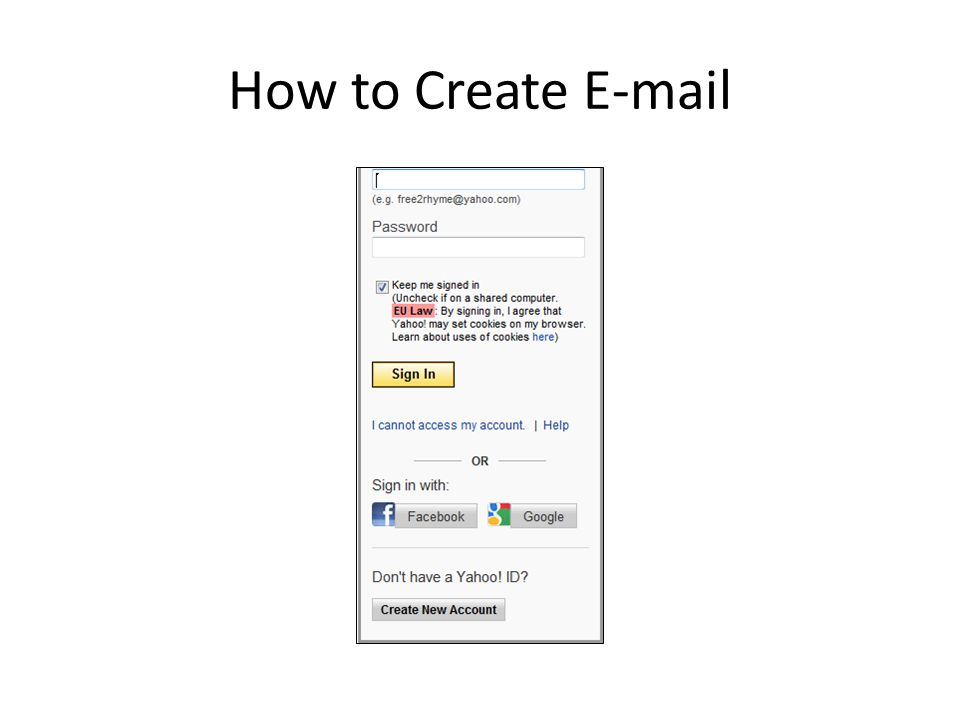 How to Create E-mail