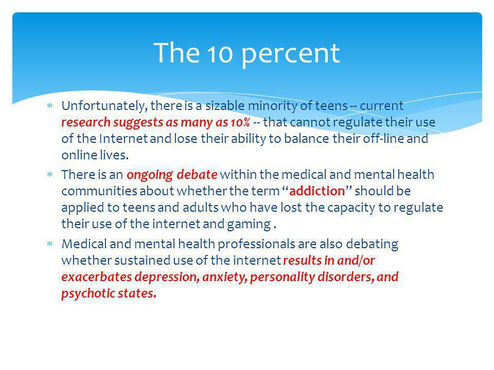 The 10 percent