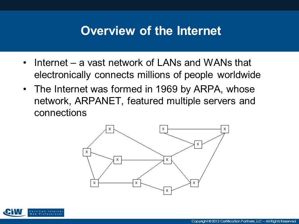 Overview of the Internet