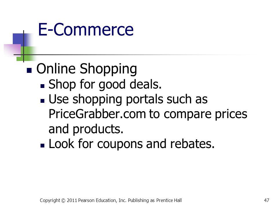 E-Commerce Online Shopping Shop for good deals.