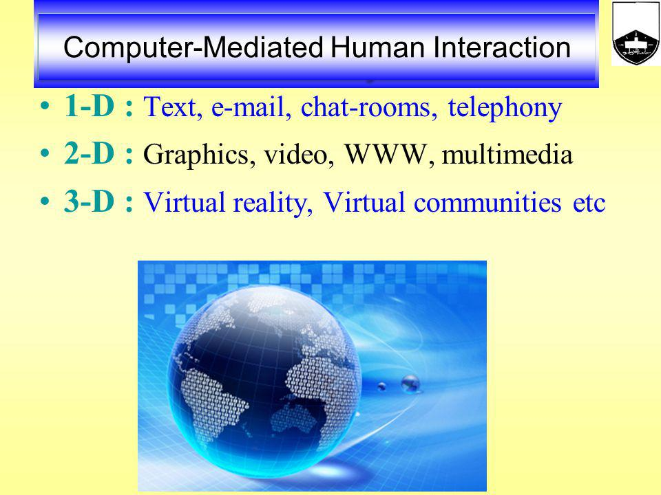 Computer-Mediated Human Interaction