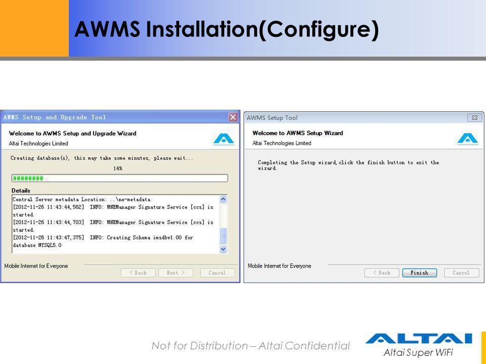 AWMS Installation(Configure)