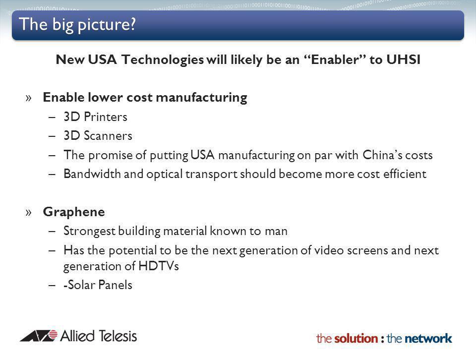 New USA Technologies will likely be an Enabler to UHSI