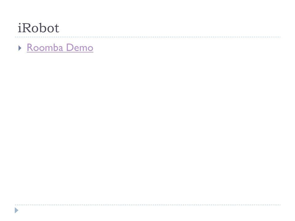 iRobot Roomba Demo