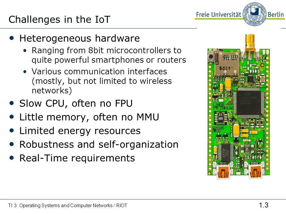Heterogeneous hardware