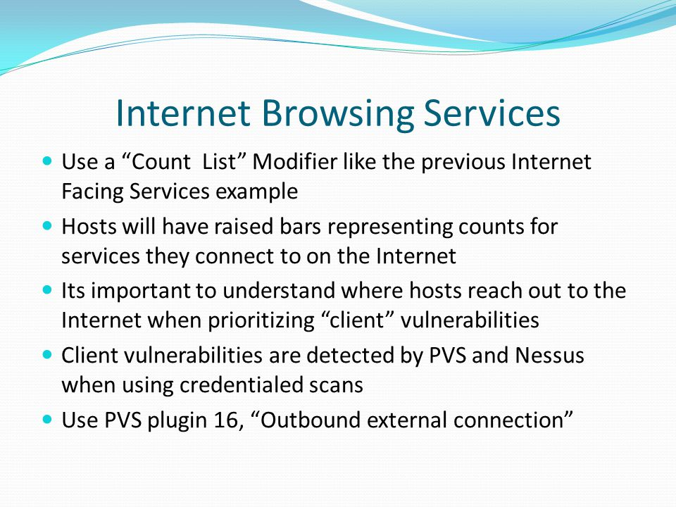 Internet Browsing Services