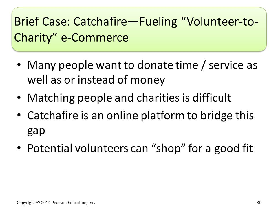 Brief Case: Catchafire—Fueling Volunteer-to-Charity e-Commerce