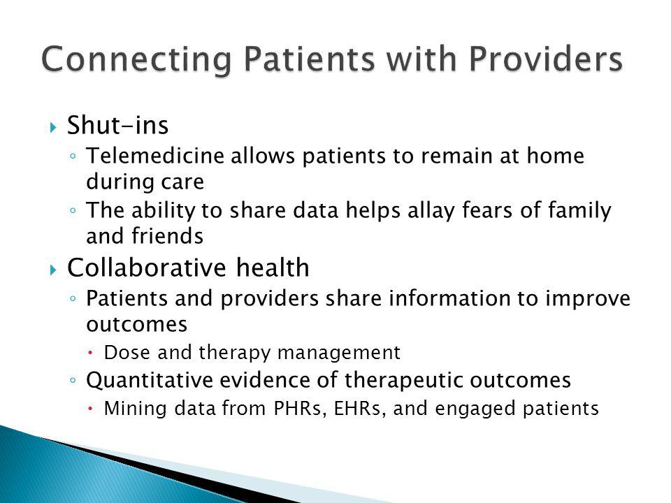 Connecting Patients with Providers