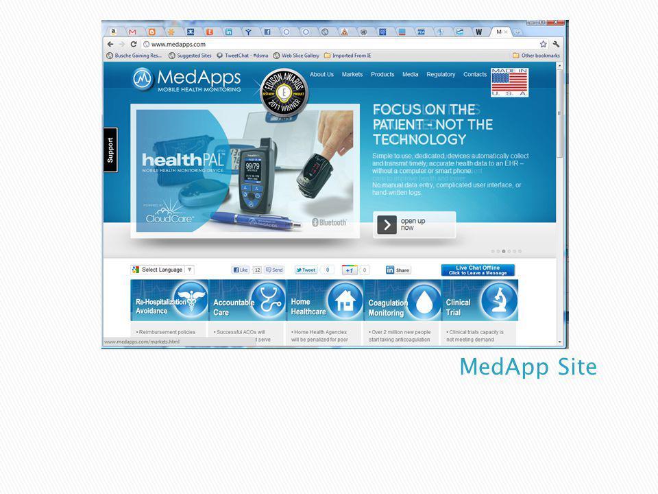 MedApp Site