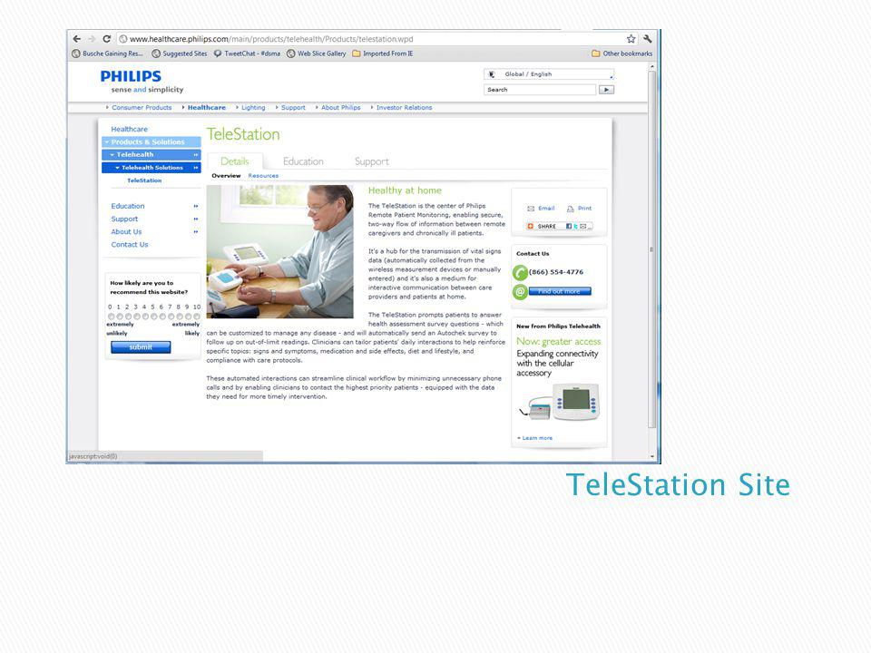 TeleStation Site