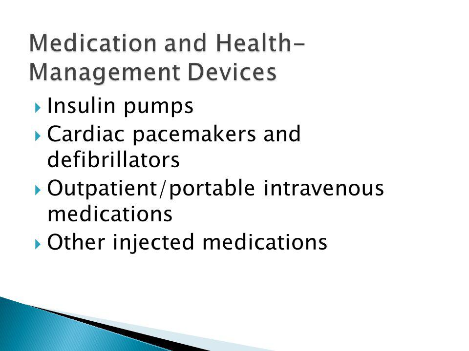 Medication and Health-Management Devices