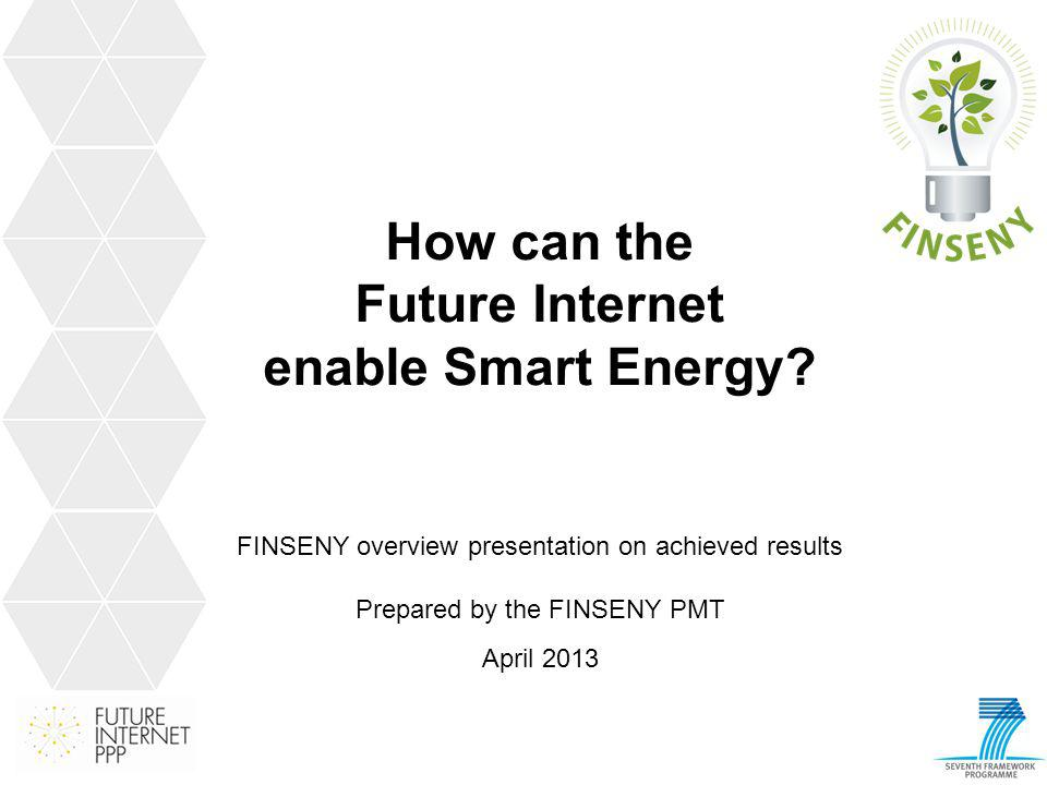 How can the Future Internet enable Smart Energy