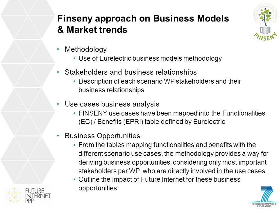 Finseny approach on Business Models & Market trends