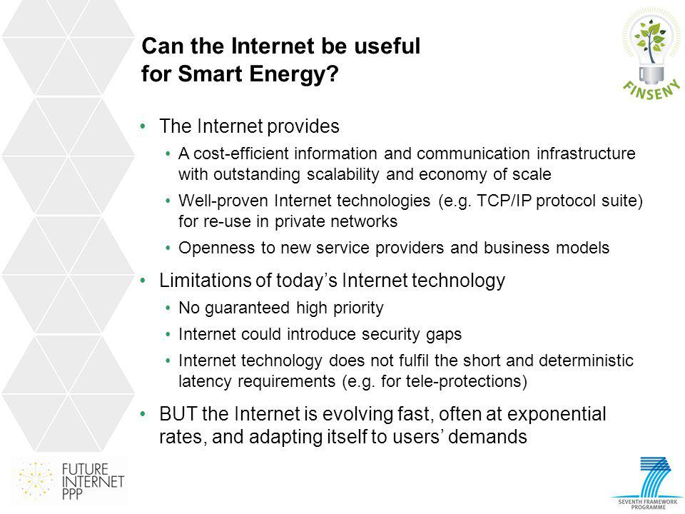 Can the Internet be useful for Smart Energy