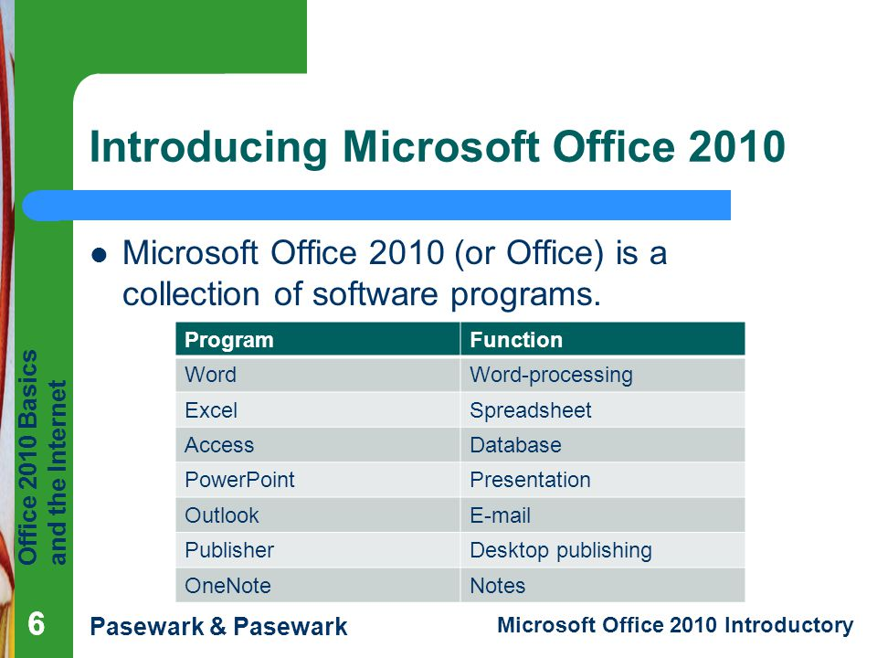 Introducing Microsoft Office 2010