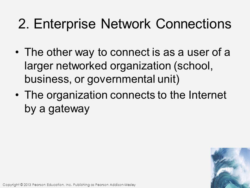 2. Enterprise Network Connections