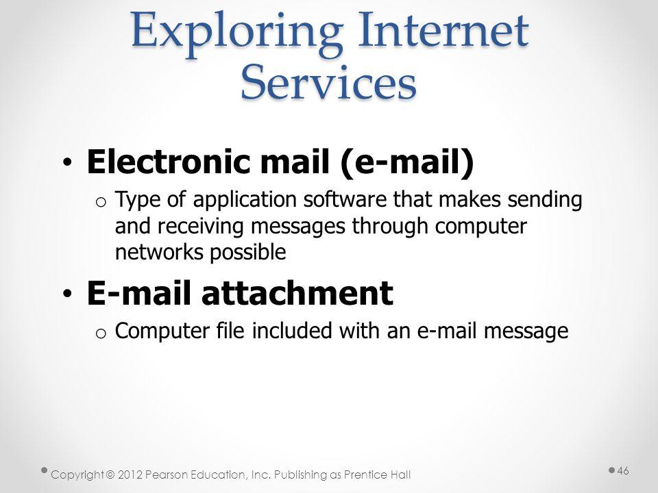 Exploring Internet Services