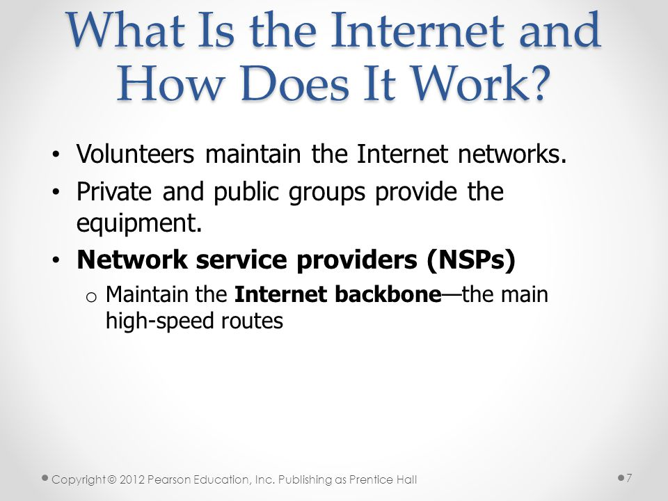 What Is the Internet and How Does It Work