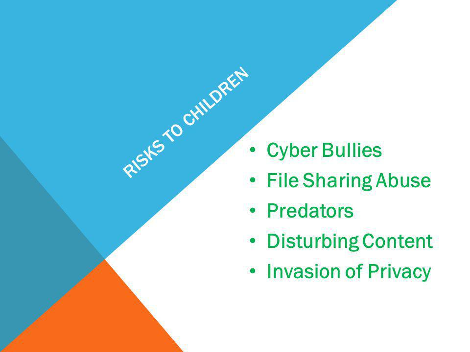 Cyber Bullies File Sharing Abuse Predators Disturbing Content