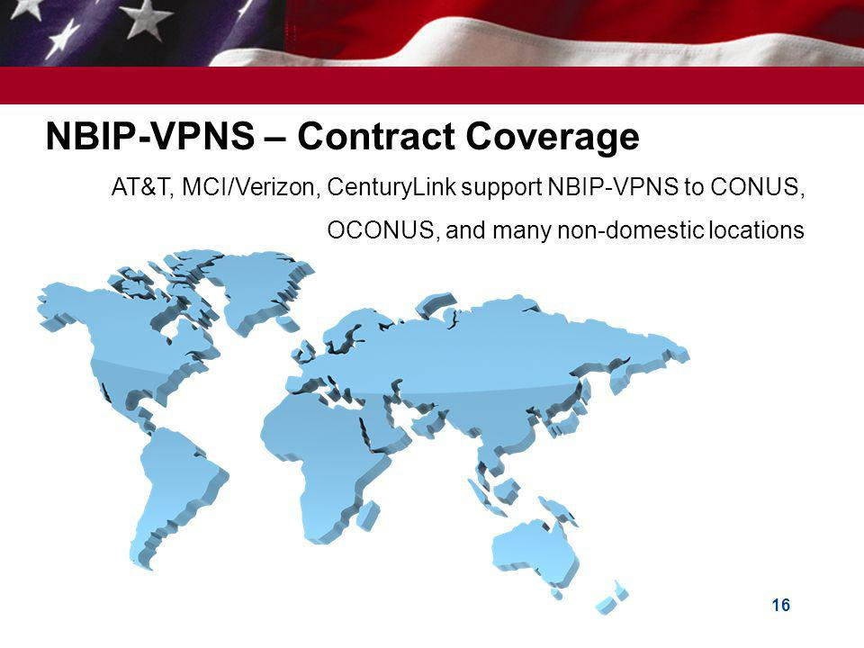 NBIP-VPNS – Contract Coverage