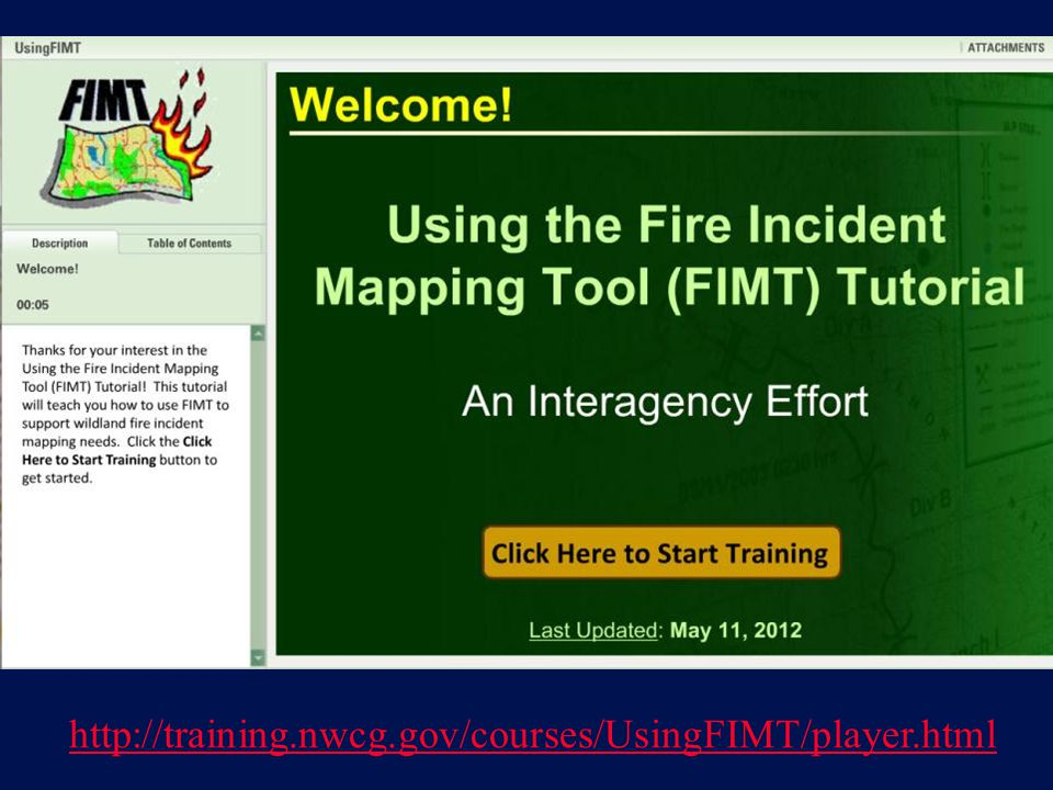 http://training.nwcg.gov/courses/UsingFIMT/player.html