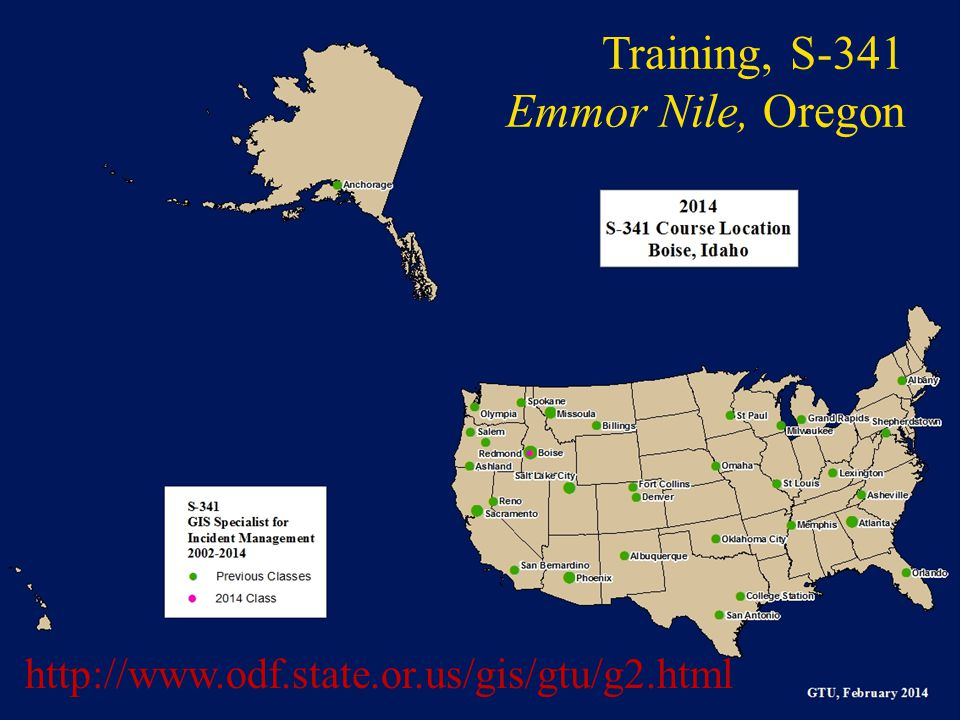Training, S-341 Emmor Nile, Oregon