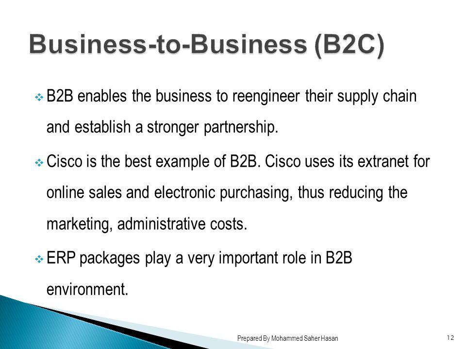 Business-to-Business (B2C)
