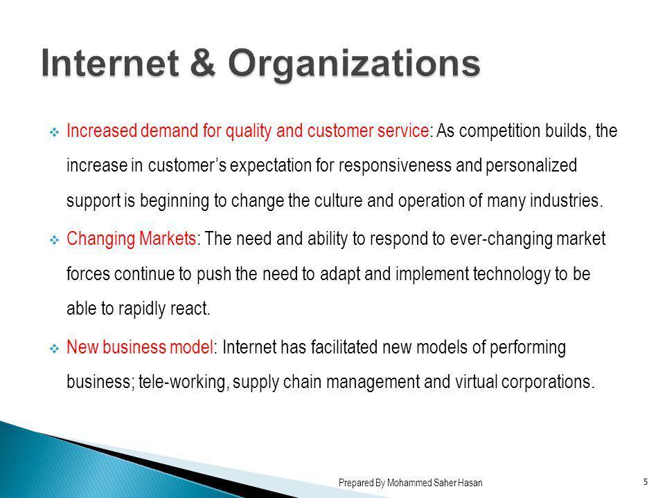 Internet & Organizations
